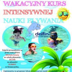 Szkoła Delfin zaprasza na wakacyjny kurs pływania