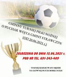 Turniej Piłki Nożnej o Puchar Wójta 2021