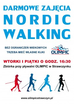 Nordic walking w Centrum OLIMPIC