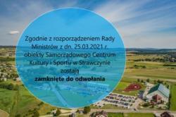 Obiekty Sportowo-Rekreacyjne OLIMPIC zamknięte do odwołania