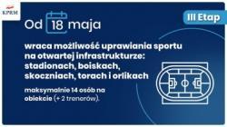 Obiekty sportowe CSR Olimpic - regulaminy obowiązujące od 18.05