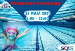 Pływalnia OLIMPIC ponownie otwarta !!!
