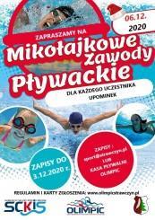 Mikołajkowe Zawody Pływackie - 6.12.2020