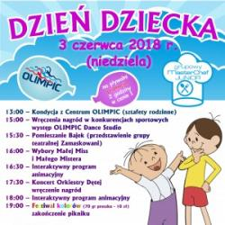 Zapraszamy na festyn z okazji Dnia Dziecka 2018